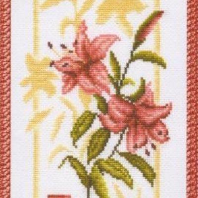 БР-006 Отражение лилии